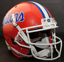 *CUSTOM* FLORIDA GATORS Schutt AiR XP AUTHENTIC Football Helmet w/ROPO-SW