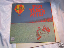 Tens Years After Watt Record vintage with Rock music Poster