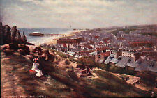 POSTCARD HASTINGS FROM THE CASTLE  C4-K49