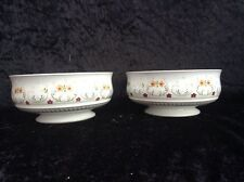 2 X Denby Avignon Footed bowl 5 3/4 Inch Soup