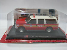 1/50 Scale 2004 EXCURSION Fire Vehicles Diecast Model By Amercom