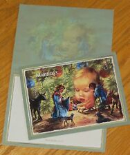 Heaven In My Hand Kathy Fincher Art baby religious 2008 Lang Christmas Cards 7ct