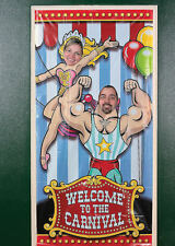CIRCUS Photo PROP Carnival Door Banner party picture Festival Under the Big Top