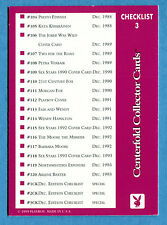 [GCG] PLAYBOY 1999 - Cards - CARD CHECKLIST n° 3