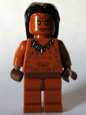 LEGO - INDIANA JONES - Ugha Warrior with Hair - MINI FIG / MINI FIGURE