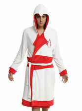 Assassins Creed Hooded Pool Bath Robe Shield Belt Hood Cosplay L/XL Embroidered