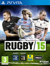 Rugby 2015 SONY PS VITA IT IMPORT BIGBEN INTERACTIVE