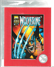 Wolverine Laser-Mat Featuring Cover Art from #145 Limited Edition #31/500 COA AR