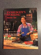 Everybody's Wokking By Martin Yan Chinese Recipe Cookbook 1991 Color Paperback