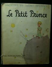 Antoine de Saint-Exupery: LE PETIT PRINCE, Early French HC edition with $2.00 DJ