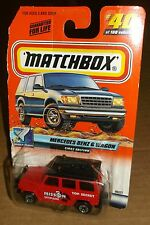 Matchbox 2000 Space Explorer Series 8 #40 Mercedes Benz G Wagon First Ed 96327