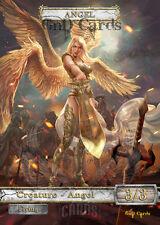 3x Angel #11 V.1 Custom Altered Tokens MTG (for Linvala, the Preserver)