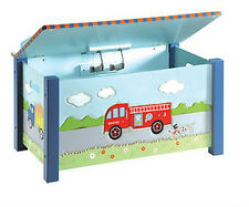 Guidecraft G85304 Transportation Toy Box