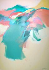 """Mary Jane Schmidt """"April Waters"""" signed Original abstract Painting on Canvas"""