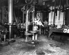 Old Photo. San Francisco Mint  - Machine Shop