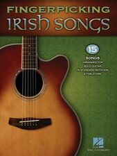 Fingerpicking Irish Songs Sheet Music Guitar Solo Book NEW 000701965