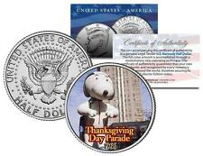 SNOOPY BALLOON Macy's THANKSGIVING DAY PARADE Colorized JFK Half Dollar US Coin