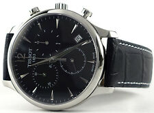 Tissot T0636171605700 Men's Black Dial Tradition Quartz Chronograph Watch - NEW