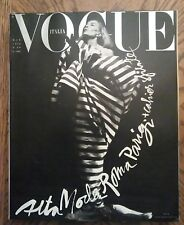 *** VOGUE ITALIA   MAGAZINE March 1990 Speciale Alta Moda Roma