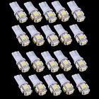 20Pcs T10 5050 W5W 5 SMD 194 168 LED White Car Side Wedge Tail Light Lamp Bulb