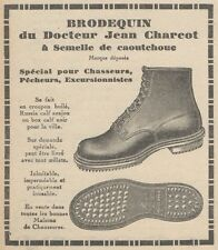 Z9023 BRODEQUIN du Docteur Jean Charcot -  Pubblicità d'epoca - 1928 Old advert