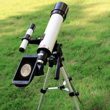 "VITE 2.4""(420/60mm) Astronomical Refractor Telescope+Cell Phone Adapter for Kids"