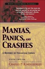 Manias, Panics, and Crashes: A History of Financial Crises Wiley Investment Cla