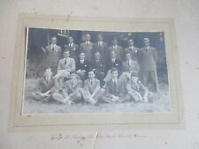 VINTAGE PHOTOGRAPH GROUP OF MEN YOUNG MEN CLOVELLY NORTH DEVON