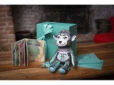 Harrods Papinee Rare Ltd Edition Happy Monkey Soft Toy & Book In Gift Box