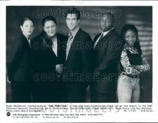 1997 Actor Dylan McDermott With Cast of Show TV The Practice Press Photo