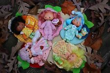 Vintage Strawberry Shortcake set of 5 Sweet Sleepers