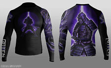 Raven Fightwear Men's Void Element BJJ MMA Rash Guard Large
