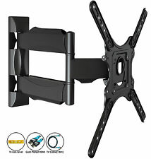 Invision TV Wall Mount Bracket Plus HDMI Tilt Swivel 24 26 32 37 40 42 50 52 55