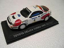 Modello di auto Toyota Celica Turbo 4wd WRC Rally Catalunya 1992 BIANCO 1:43