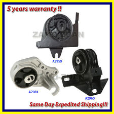 1996-2000 Dodge Grand Caravan 3.3/ 3.8L Engine Motor & Trans. Mount Set 3PCS.