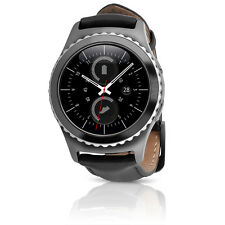 Samsung Gear S2 Classic (T-Mobile) Android Smartwatch w/ Leather Band - Black SM