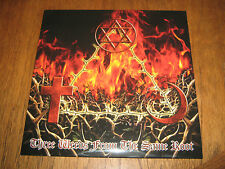 """THOR'S HAMMER """"Three Weeds From the Same Root"""" LP graveland veles"""