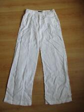 * pantalon en lin Armani Blanc Taille 34 à - 74%