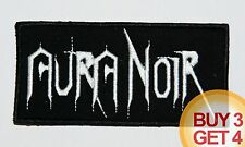 AURA NOIR WT PATCH BUY3 GET4,NIFELHEIM,DESASTER,DESTRO​YER 666,ABSU,CRUEL FORCE