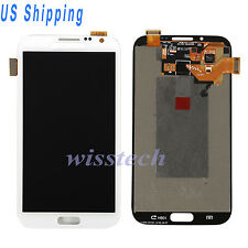 LCD Touch Screen Digitizer For Samsung Galaxy Note 2 N7100 N7105 i317 T889 White