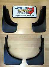 2014-2016 Jeep Cherokee Deluxe Molded Front & Rear Splash Guards Mud Flaps Mopar