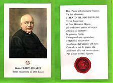 Reliquia – Reliquiario – Santino - Relic -  Beato Filippo Rinaldi