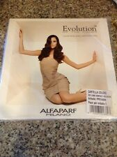 Alfaparf Evolution Of The Color Hair Color Chart Beauty Salon Swatch Book Line