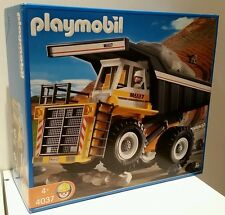 PLAYMOBIL HEAVY DUTY DUMP TRUCK 4037 + BONUS CONSTRUCTION SET 4138 ��BRAND NEW��