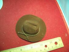 1/6th Scale Brown Cowboy Hat
