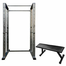 FITFLY Power Rack 2x4  (Capasity of 600kg Weight) + Flat Bench (Free)