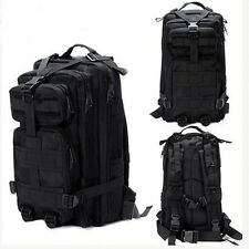 Every Day Carry Tactical Assault Bag Pack Backpack Rucksack Molle Black Cam