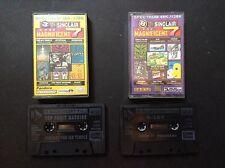 ZX Spectrum-il tuo Sinclair magnificant 7 nastri 3 & 8-INC. KnightMare, Rampage