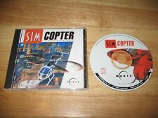 SimCopter PC CD-ROM Maxis EA 1998 Windows 95 Sim Copter Fly Missions In The Metr