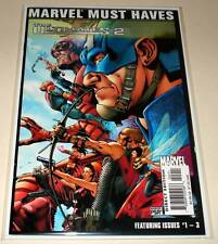 MARVEL MUST HAVES : The ULTIMATES 2 # 1-  3 Marvel Comic 2005  VFN